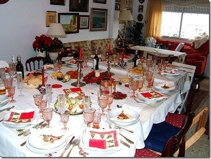 video de cmo decorar la mesa de navidad