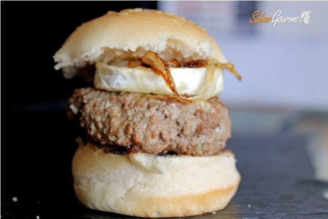 minihamburguesa queso cabra
