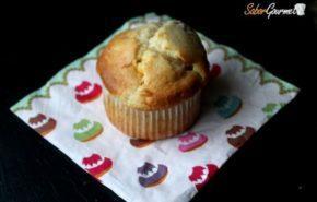 Muffins de arándanos y chocolate blanco