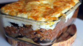 Las mejores recetas de musaka griega paso a paso