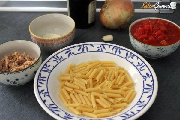 pasta-con-atun-ingredientes