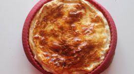 Tarta de queso salada, fácil y deliciosa
