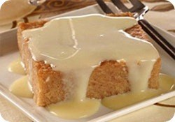 pastel yuca dulce