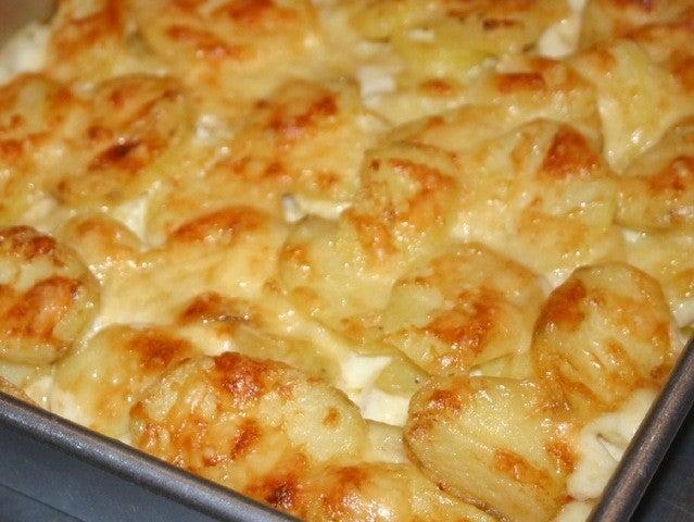 Cómo hacer patatas a la crema - SaborGourmet.com