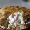Papas con salsa blanca, patatas con bechamel