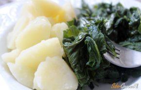 Grelos con patatas | Cocina gallega