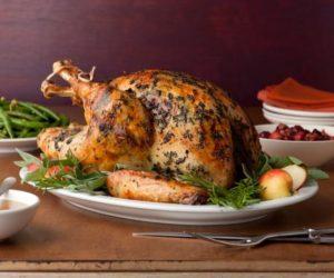 Receta de pavo relleno para Navidad y Acción de Gracias