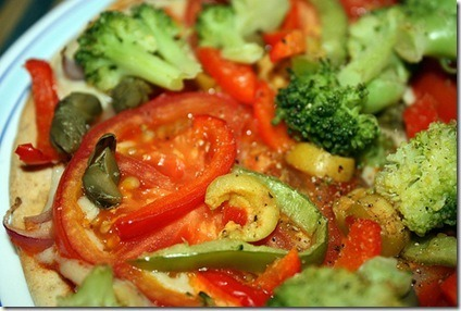 Pizza vegana recetax recetas de cocina espa ola y del for Cocina vegana gourmet