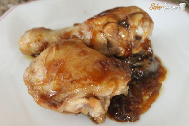 pollo a la salsa de pedro ximenez