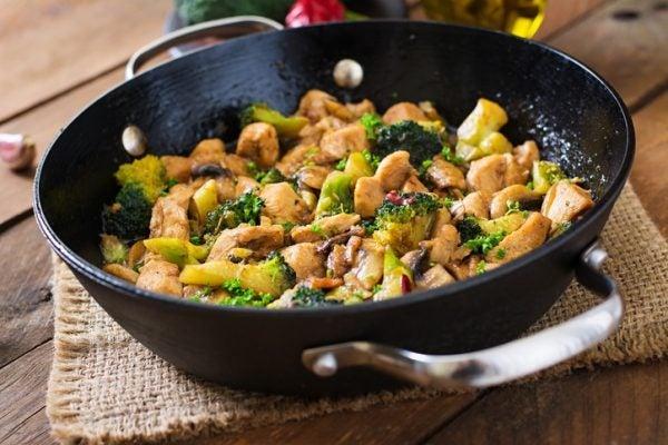 Pollo brocoli