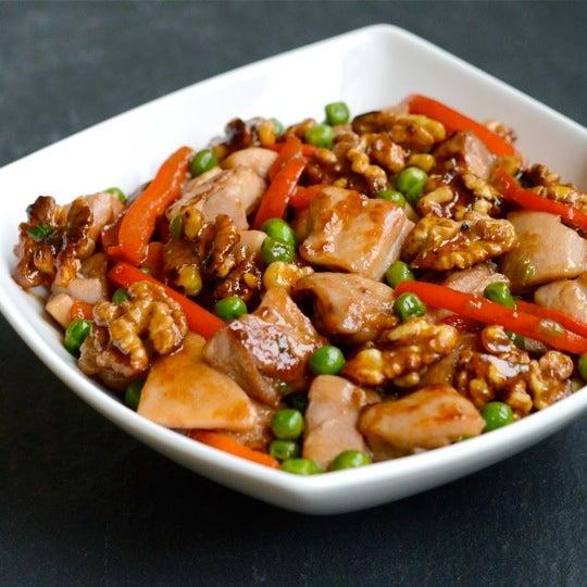 Recetas Para Cocinar Pollo. Cocina Con Pollo Salteado Al Wok Con ...