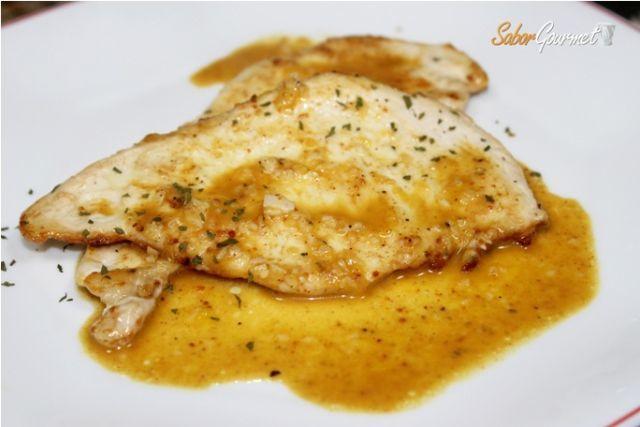 Pechuga de pollo en salsa de naranja - Salsas para pechuga de pollo ...