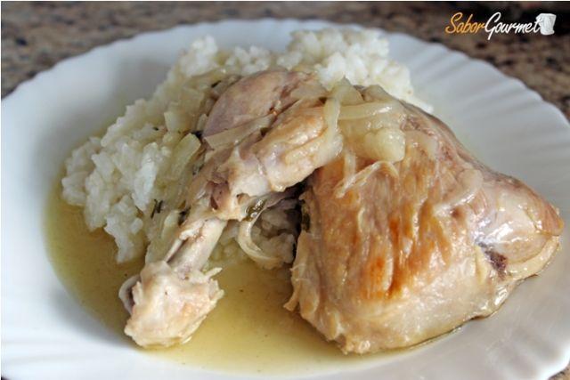 pollo olla rapida