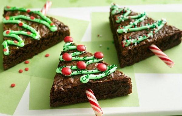 postres-y-dulces-para-las-fiestas-de-navidad-brownies-de-navidad