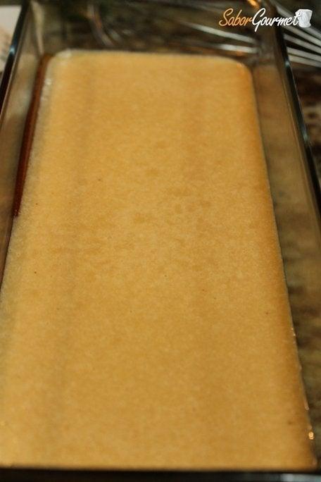 preparación tarta coco