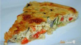 Recetas vegetarianas: Quiche de verduras