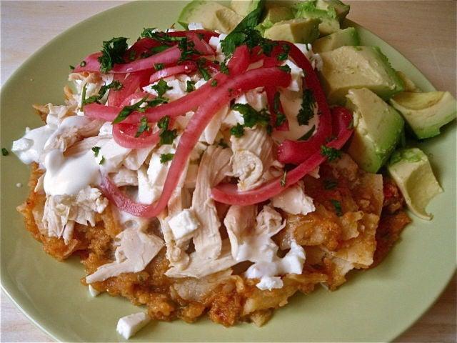 Chilaquiles Hondureños - Recetas de Cocina en Sabor Gourmet