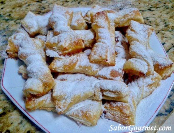 recetas-de-hojaldre-faciles-lazos-miel
