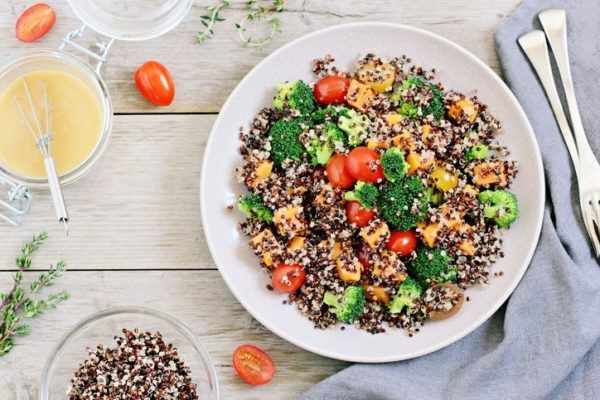 Recetas light ensalada light quinoa light