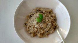 Risotto de champiñones (receta tradicional y Mycook)