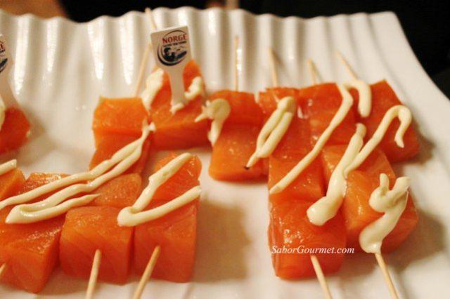 salmón con salsa alioli rutaskrei2013 paco roncero