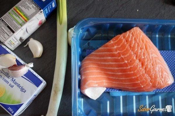 salmon-horno-con-puerros-ingredientes