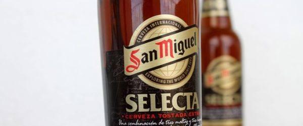 Cata de la cerveza premium Selecta de San Miguel
