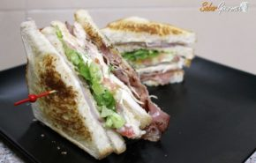 Sandwich club casero ¡De vicio!