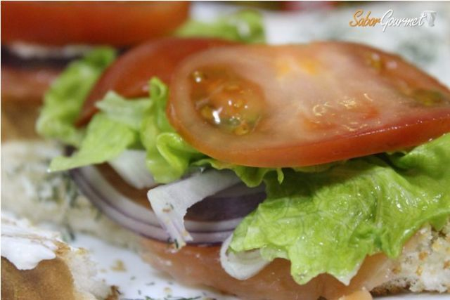 sandwich de salmon