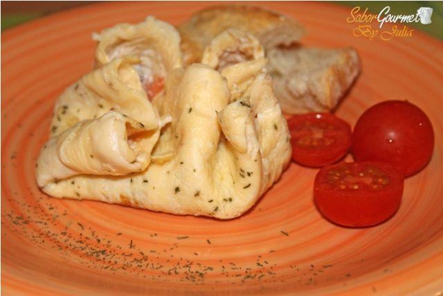 saquito tortilla y salmón