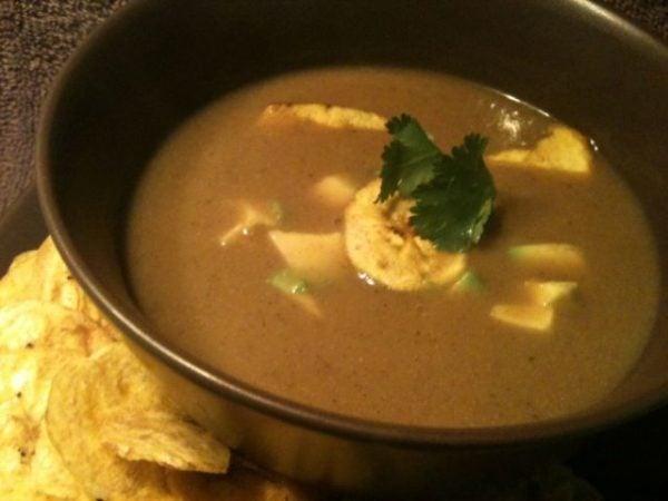 sopa-de-platano-verde-preparacion