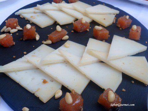 tabla quesos Hacienda Zorita