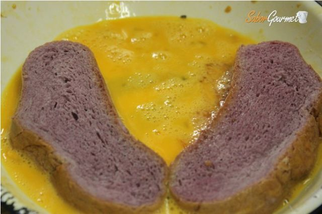 torrijas pasadas por huevo