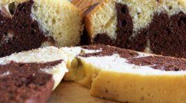 Bizcoho marmolado o Torta marmolada