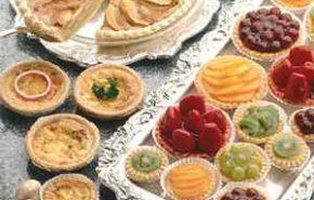 Tarteletas de crema de vainilla con manzanas