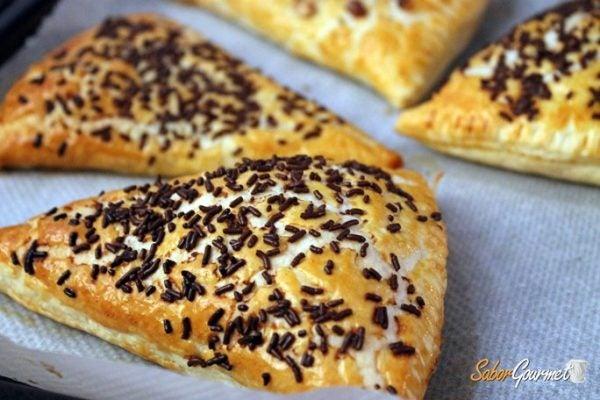 triangulos-hojaldre-chocolate