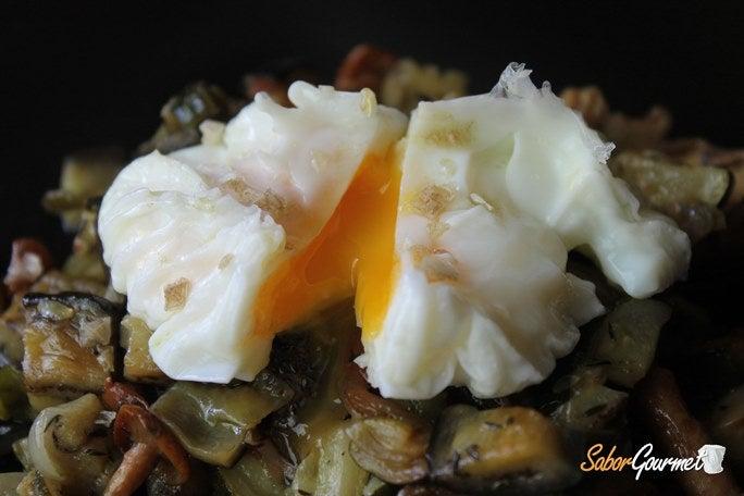 verduras-huevo-escalfado