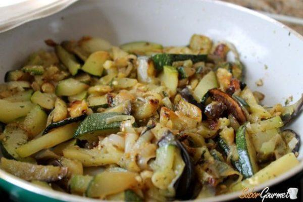 Pasta al horno con verduras - Macarrones con verduras al horno ...