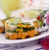 Aspic de verduras