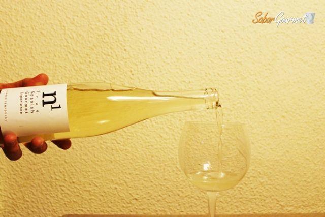 vino blanco semidulce n1 gourmet