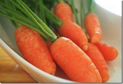 zanahorias bebe